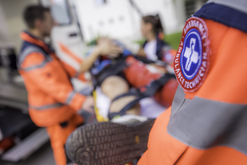 first responders and ems workers